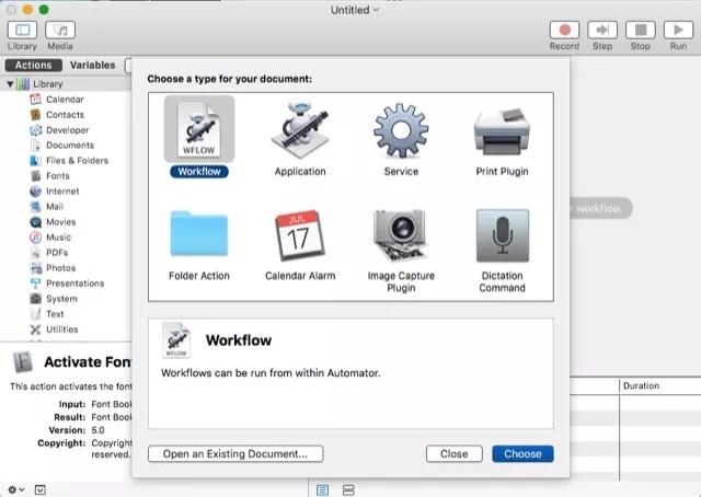 Mac Automator