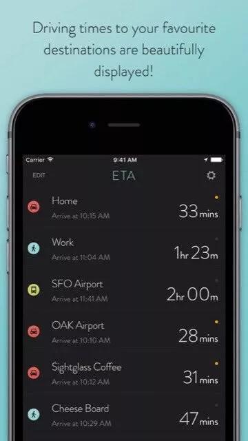 ETA app