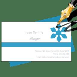 Blue Penguin Business Card Designer 2.62