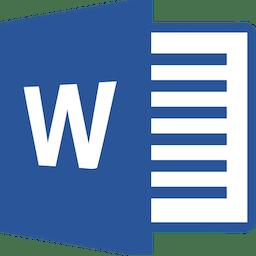 Microsoft Word 2016 15.39
