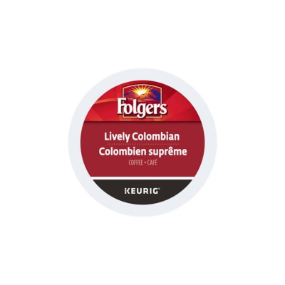 Folgers Lively Colombian K-cups 24/box