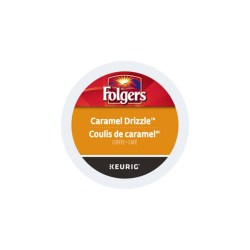 Folgers Caramel Drizzle K-cups 24/box