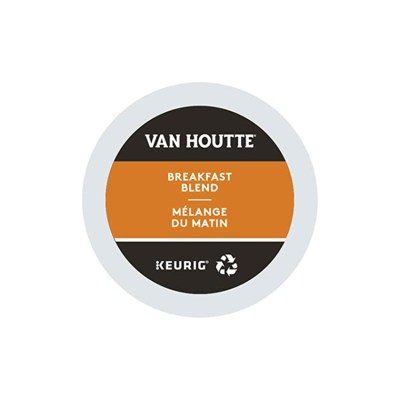 Van Houtte Breakfast Blend K-cups 24/box