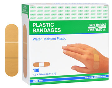 Sheer Plastic Bandages