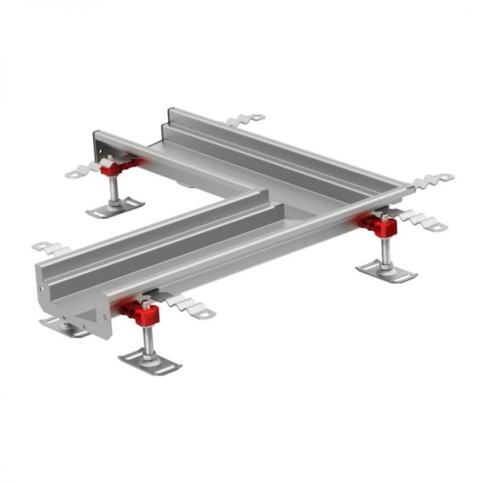 Aco Modular 125 Internal Channel Drain Left Hand Corner 105215