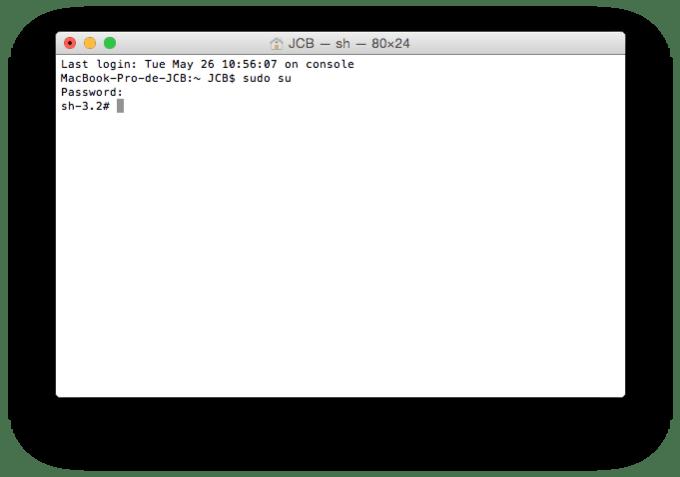 macbook memoire liberer avec terminal