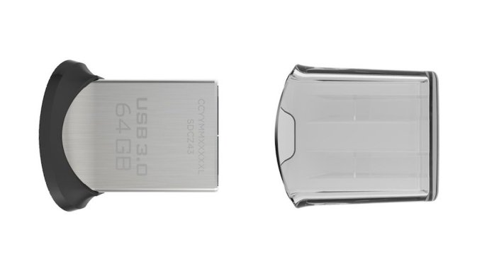 macbook SanDisk Ultra Fit USB 3 128go