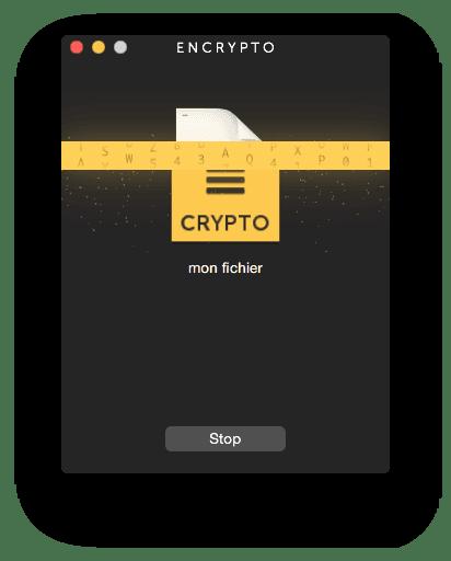 Crypter un fichier sur MacBook encrypter