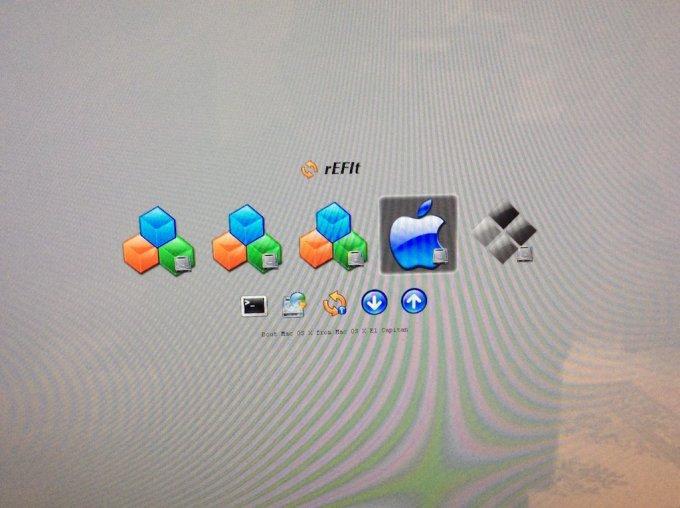 Dual boot Mac OS X El Capitan ubuntu reussi