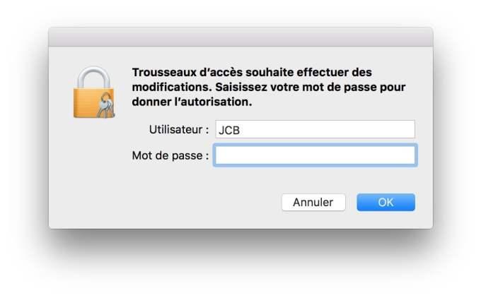 retrouver son mot de passe wifi sur mac autorisation