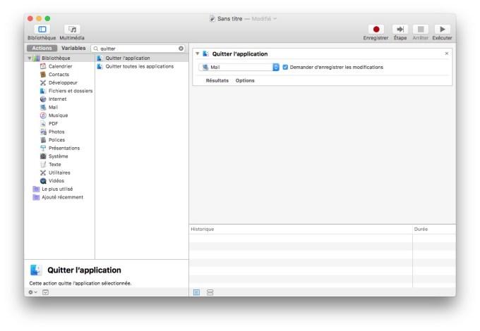 accelerer apple mail mac os sierra quitter application mail
