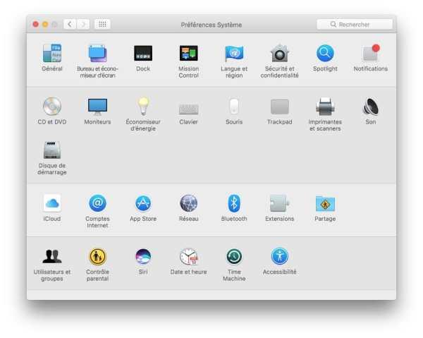 changer l'adresse ip d'un mac preferences systeme