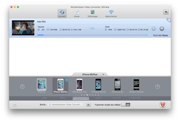 Encoder une vidéo sur Mac Encoder une video sur Macbook pro
