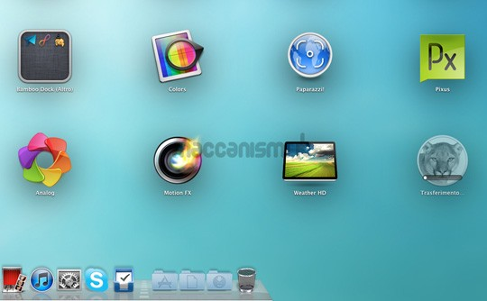 OS X Mountain Lion - Launchpad