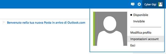 Data di nascita account live microsoft