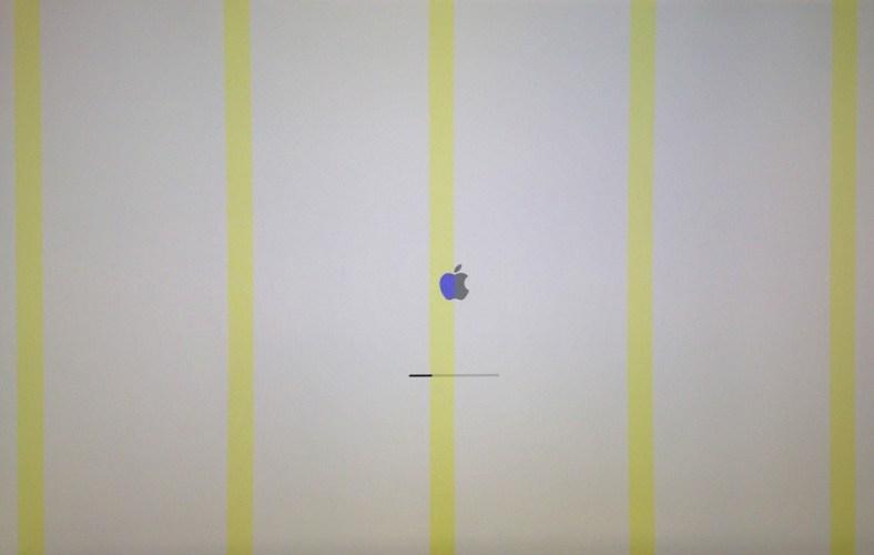 Schermo rotto iMac bloccato