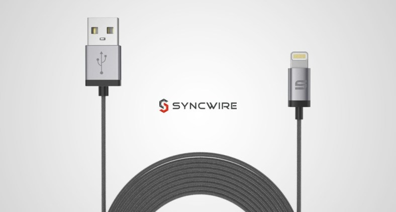 Cavo Syncwire USB Lightning in nylon per iPhone e iPad