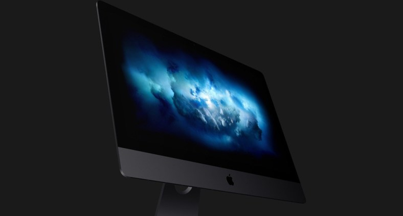 Download del wallpaper iMac Pro nuvole di fumo blu