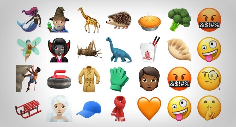 Nuove emoji per iPhone e iPad con OS 11.1 - I love you e molte altre!