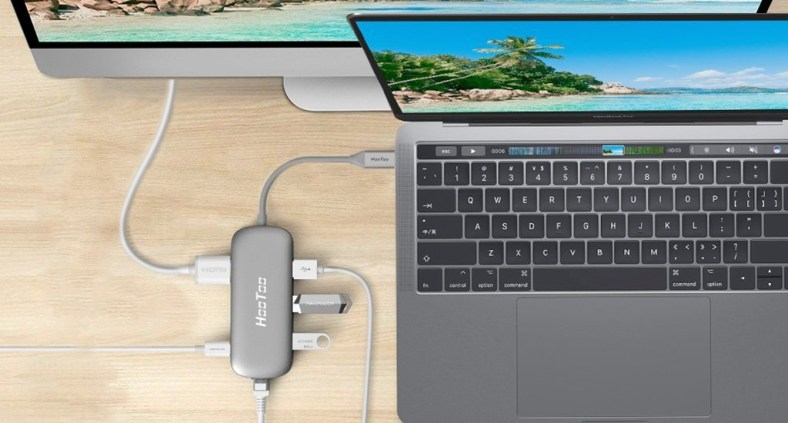 MacBook USB-C collegamento HDMI senza audio