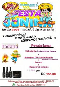 festa junina no Maccarios Hadana 2016