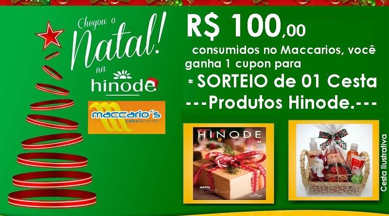 Você pode ganhar cesta de Produtos Hinode, entenda como !