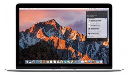 Apple представила официальное обновление macOS Sierra