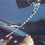 Jesus drives a SUV