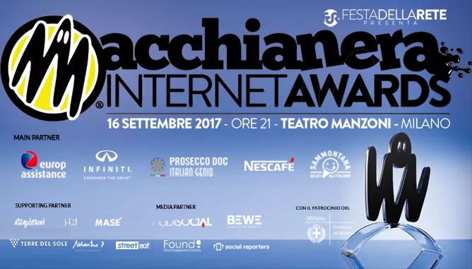 Macchianera Internet Awards 2017 (#MIA17) – Scheda per la votazione finale /2