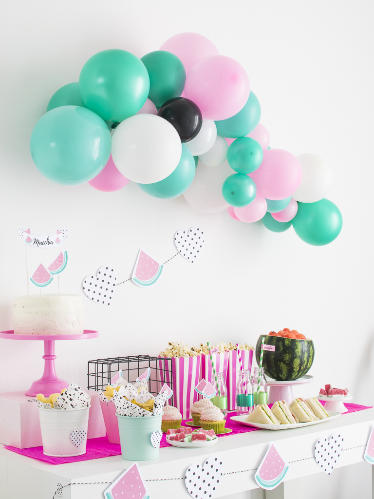 watermelon party_table