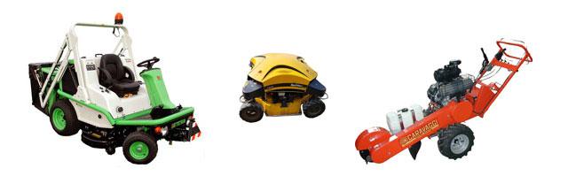 Noleggio macchine ed attrezzature da giardinaggio