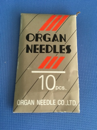Organ needles B27. Aghi per macchine per cucire industriali