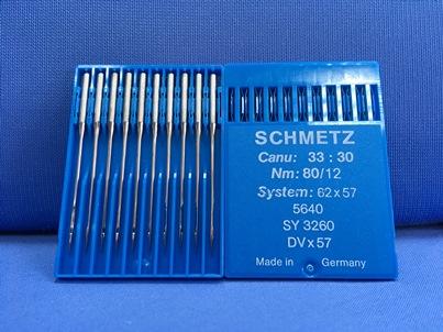 Confezione da 10 Aghi industriali Schmetz 80-12