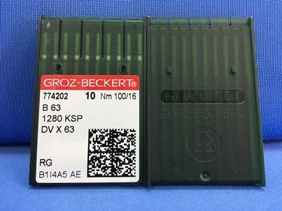 Confezione da 10 aghi industriali Groz Beckert B63