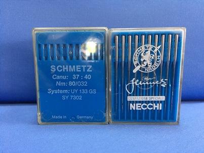 Confezione da 10 aghi Schmetz UY 133 GS Nm 80