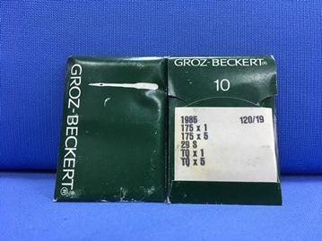 Confezione da 10 aghi Groz Beckert 120 19