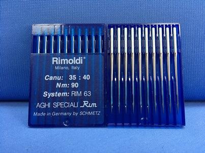 Confezione da 10 aghi Schmetz sistema B63 RIM63 Nm 90