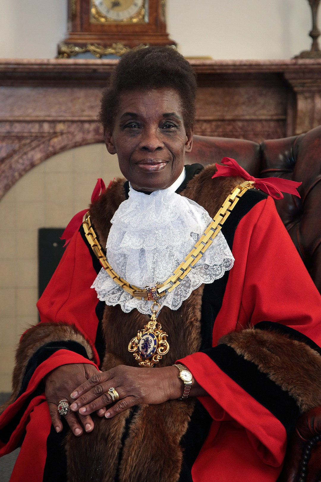 Cllr Alift Harewood-Jones MBE