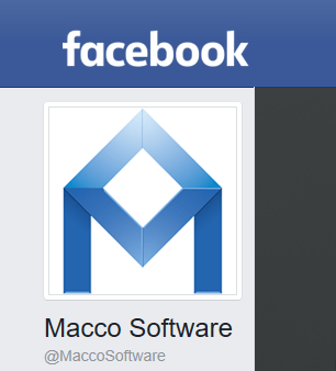 Macco nu ook internationaal op Facebook