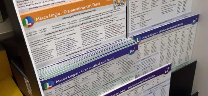 Onze taalkaarten nu verkrijgbaar bij lokale boekhandel Krings!