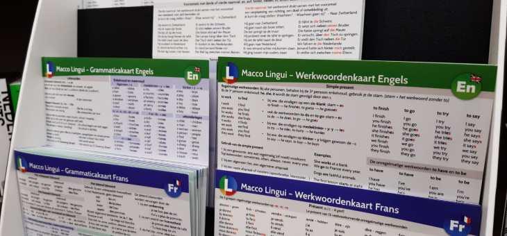 Vers van de pers: taalkaarten Engels!