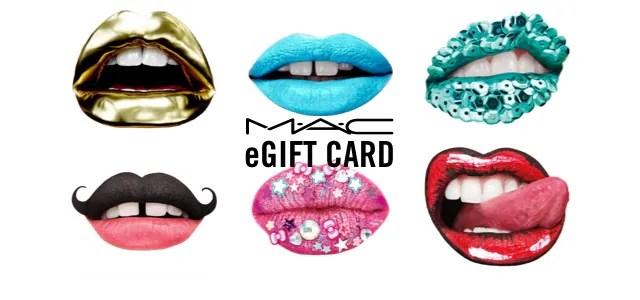 MAC Cosmetics Gift Cards E Gift Cards MAC Cosmetics