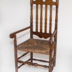 Heart and Crown Side Chair, Macculloch Hall Decorative Arts Collections