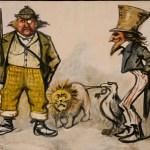 Thomas Nast Collection: Sorrowful John and Joyful Johnathon