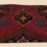 Medallion Ushak Fragment, Macculloch Hall Carpet Collection