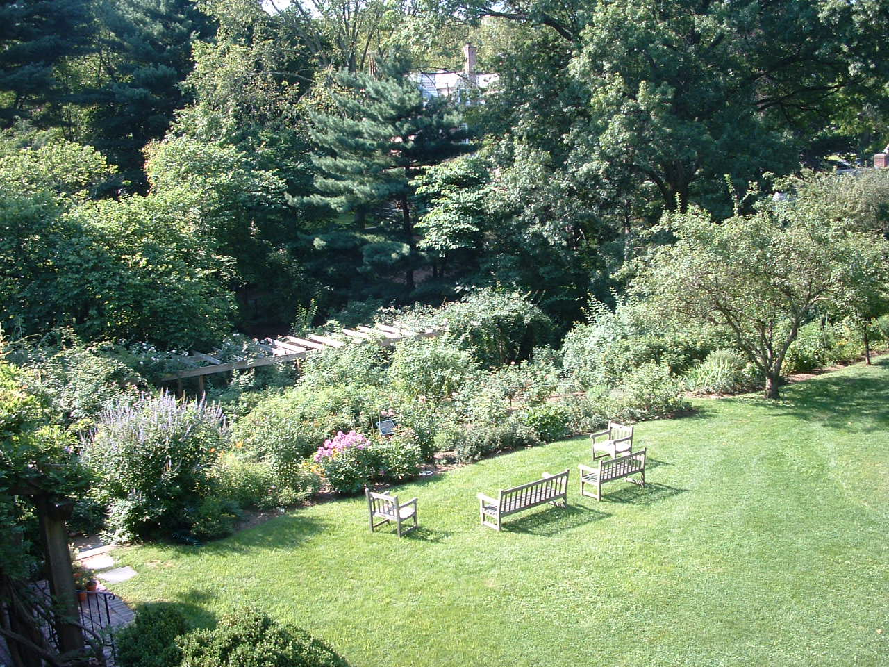 Gardens Of Macculloch Hall Historical Museum, Morristown, New Jersey