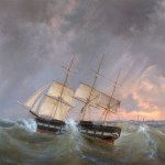 The American Frigate, Rome Macculloch Hall Fine Arts Collection