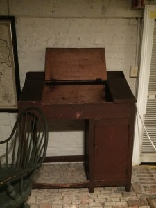 School Desk, ca. 1820, Macculloch Hall Historical Museum, Morristown, NJ