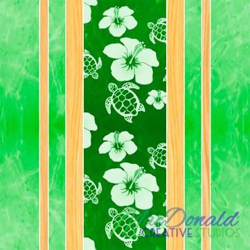 Hawaiian fabric pattern