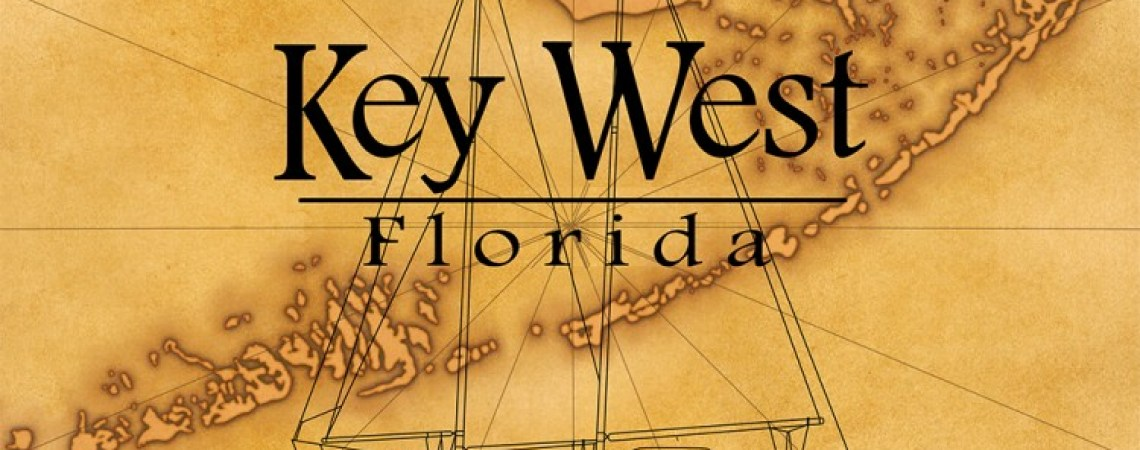 Sailing Key West coastal artwork.
